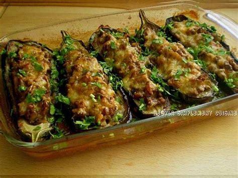 cuisiner des aubergines à la poele les meilleures recettes de viande hachée et aubergines