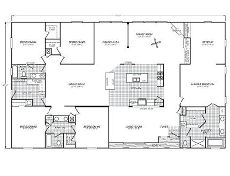 Fleetwood Wide Mobile Home Floor Plans by 25 Best Ideas About Mobile Home Floor Plans On