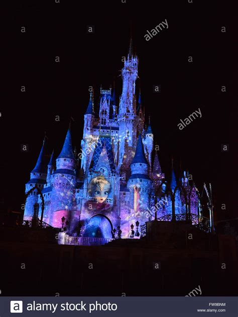 Disney Light Show by Disney Magic Kingdom Castle Light Show Disney Digitally