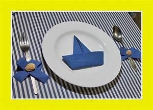 Servietten Falten Tischdeko : schiff servietten ~ Markanthonyermac.com Haus und Dekorationen