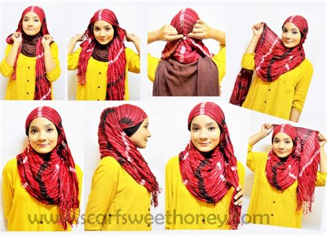 hijab tutorial rahma  shop supplier baju hijabers