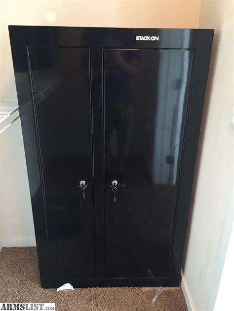 double door steel cabinet armslist for sale trade stack on gcdb 924 10 gun double