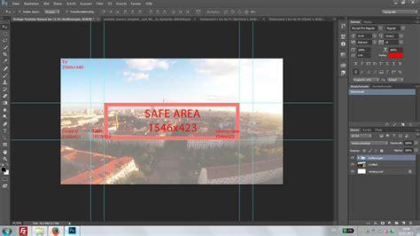 photoshop vorlage fuer youtube banner erstellen chip