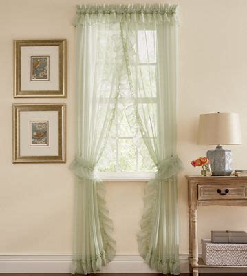 Emelia Sheer Voile Curtains by Emelia Sheer Voile Priscilla Panel Pair From Ginny S 736104