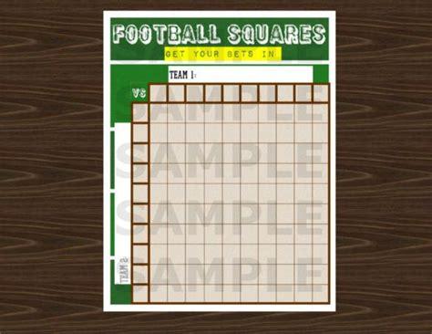 football pool template   premium templates