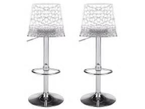 barhocker italienisches design barhocker 2er set clark transparent günstig kaufen