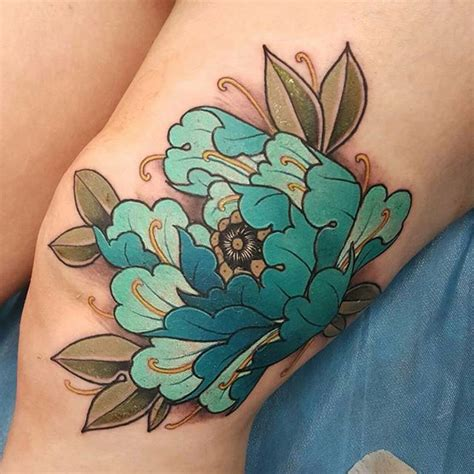 25+ Best Ideas About Japanese Peony Tattoo On Pinterest