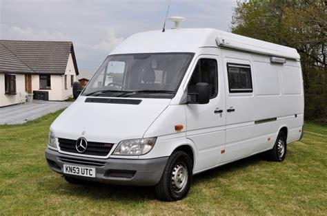 A very popular van, with many people using them as the base of their camper van conversion. Mercedes Sprinter Camper Van - Jap Imports UK
