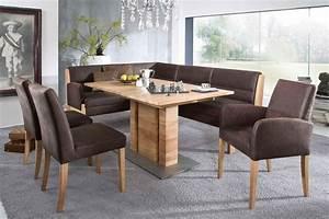 Eckbank Buche Massiv : k w eckbank goby in braun m bel letz ihr online shop ~ Watch28wear.com Haus und Dekorationen