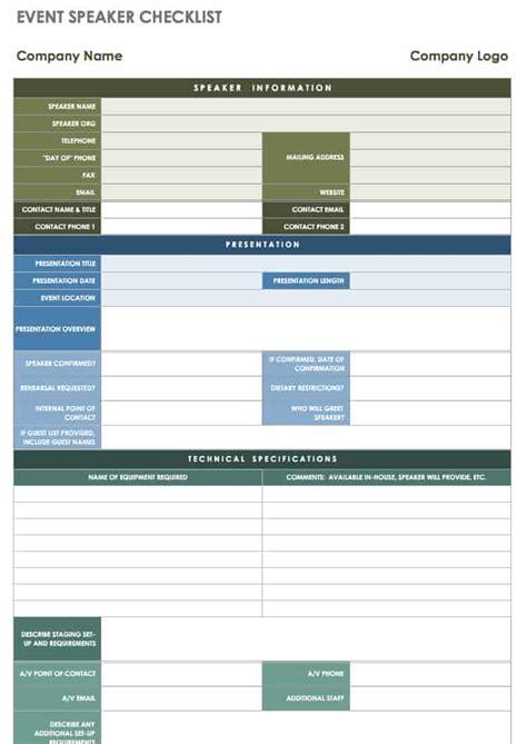 event planning templates smartsheet