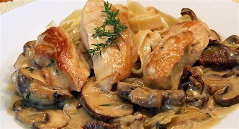 Hähnchenbrustfilet Mit Pilzrahmsoße  Lotta Kochende