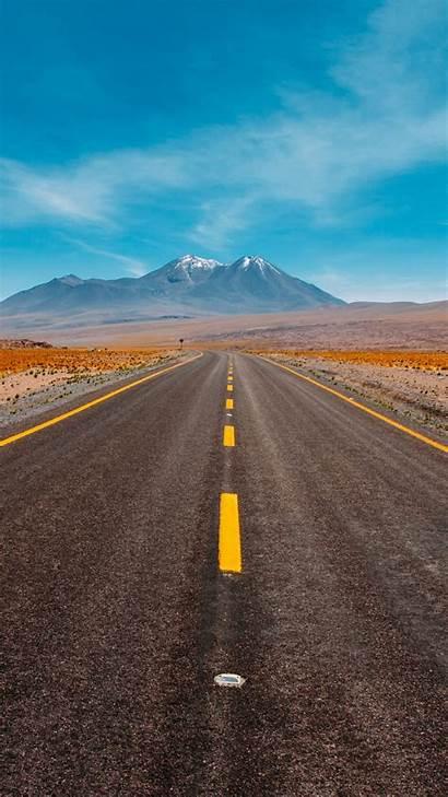 Road Desert Iphone Wallpapers Field Sky Apple