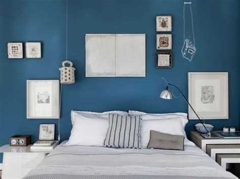 decoration chambre bleue peinture bleu chambre adulte chaios com