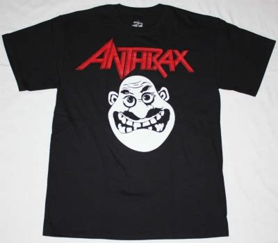 Anthrax Indians New Black T Shirt  Best Rock Tshirts