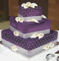 purple wedding cake wedding cakes pictures purple wedding cakes