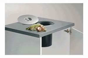 Poubelle Plan De Travail : poubelle encastrer dans plan de travail accessoires de ~ Dailycaller-alerts.com Idées de Décoration