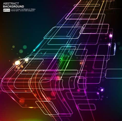 elements  neon abstract vector backgrounds  vector