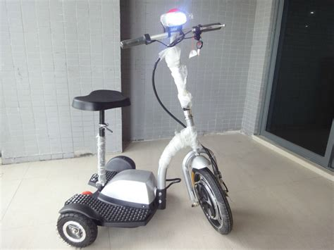 Fast Shipping Freego Es350b Zappy Electric Scooter Trike 3