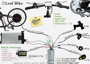 Rear Electric Hub Motor - Bike Conversion Kit