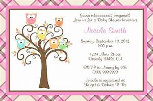 owl baby shower invites template best template collection With owl themed baby shower invitation template
