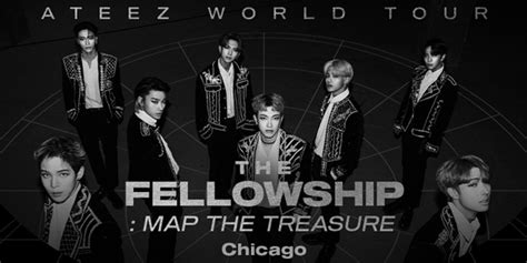 ATEEZ World Tour The Fellowship: Map The Treasure in ...