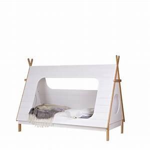 Tipi Enfant Exterieur : cadre de lit enfant bois avec sommier tipi drawer ~ Teatrodelosmanantiales.com Idées de Décoration