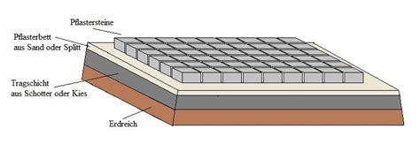 pflastersteine verlegen sand oder splitt pflastersteine verlegen 187 www selber bauen de