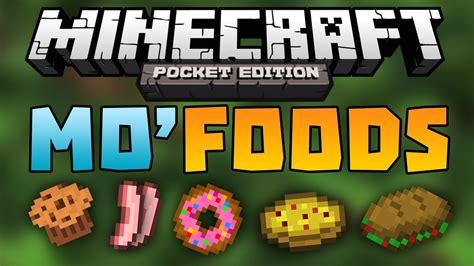 mod鑞es cuisines mo 39 foods mod adds 20 food items minecraft pocket edition