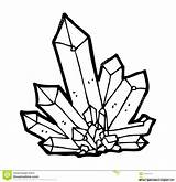 Crystal Cluster Drawing Quartz Getdrawings sketch template