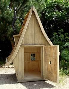 Lit Cabane Au Sol : plan de cabane en bois au sol ~ Premium-room.com Idées de Décoration