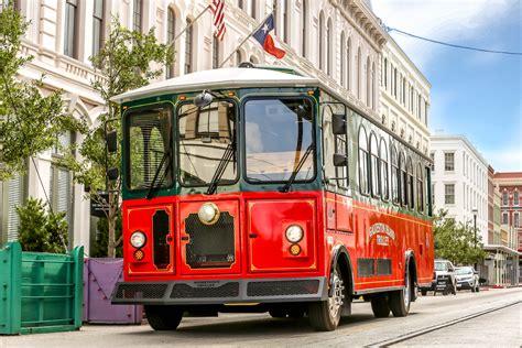 Trolley Buses Roll into Galveston | Sand N' Sea Blog