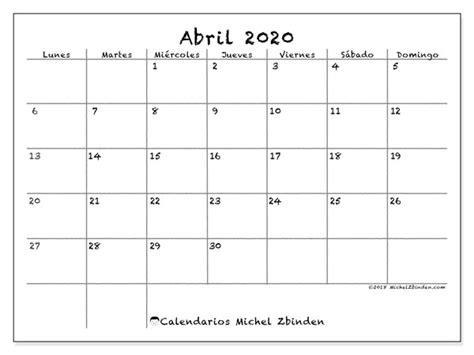 calendario 2020 da stare gratis calendario abril 2020 77ld michel zbinden es