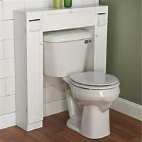 over the toilet storage cabinet Over The Toilet Space Saver Furniture Paper Holder Cabinet ...