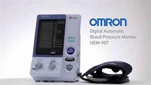 Omron Digital Automatic Blood Pressure Monitor Hem