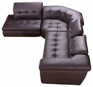 Shop houzz jm jm 397 italian leather sectional sofa for Leather sectional sofa houzz