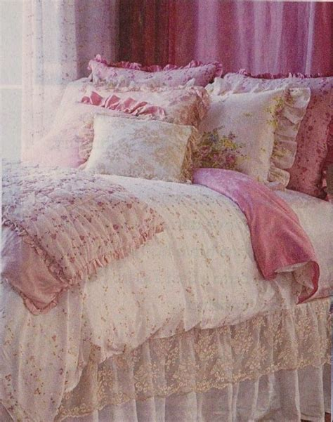 shabby chic lace bedding pin by more than vintage on beautiful bedrooms pinterest