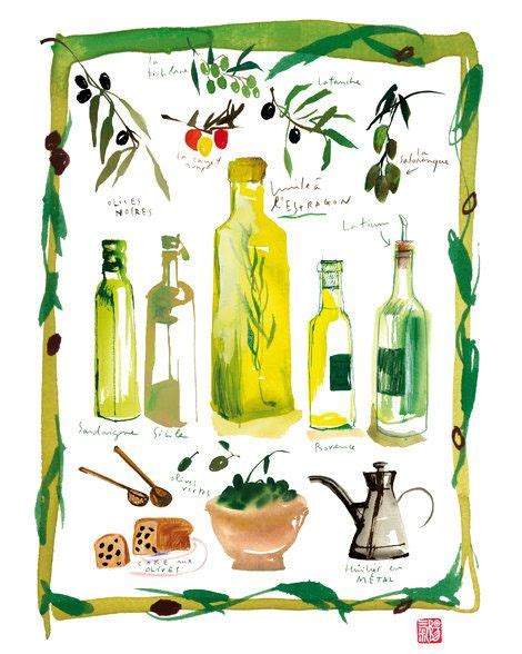 olive kitchen accessories olive bottle poster italian kitchen print food 1177