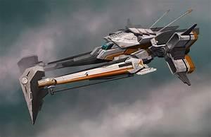 concept ships: Ship concepts by Darren Bartley