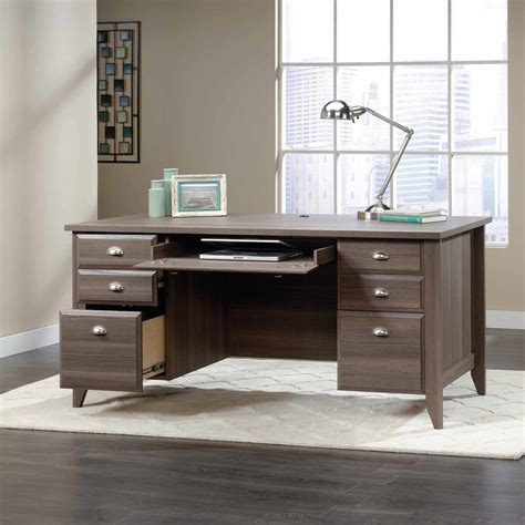 Sauder Executive Desk Jamocha by 100 Sauder Shoal Creek Jamocha Wood Shoal Creek