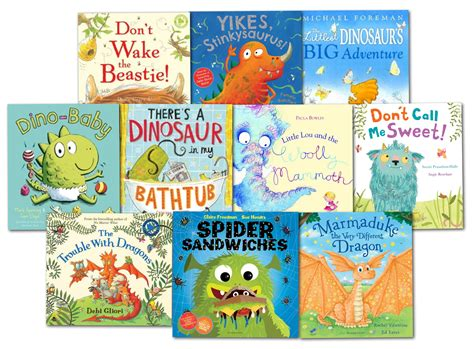 Monster Children's Picture Flat 10 Story Books Collection