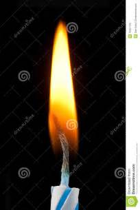 Birthday Candle with Flame
