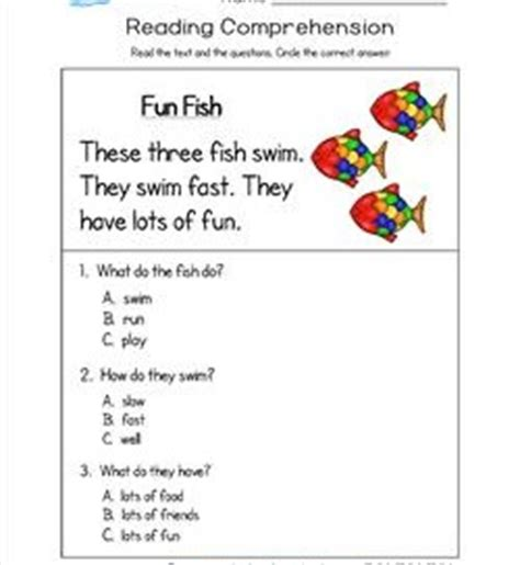 reading comprehension worksheets a wellspring