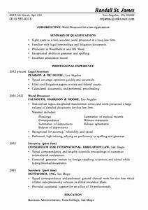 resume sample word processor for law firsm With cv samples word