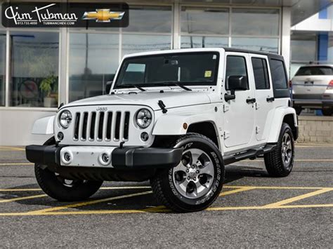 jeep sahara white 2016 2016 jeep wrangler unlimited sahara white jim tubman
