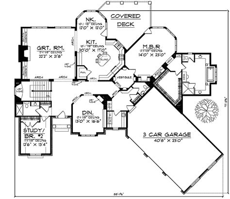 large kitchen house plans large kitchen house floor plans home design and style