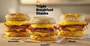 McDonald's answer to breakfast slump: Triple Breakfast ...