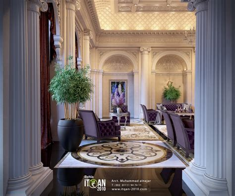 luxury classic interior design luxury classic big reception gallery rehla me Luxury Classic Interior Design