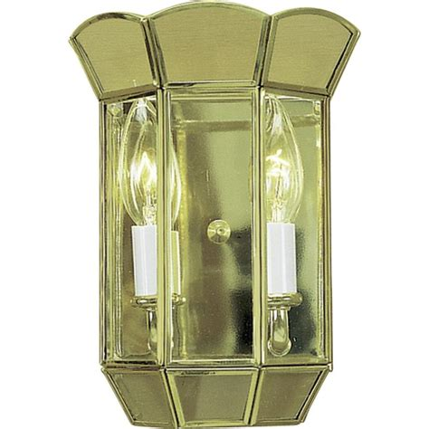 Depot Interior Lighting by Volume Lighting 2 Light Polished Brass Interior Wall
