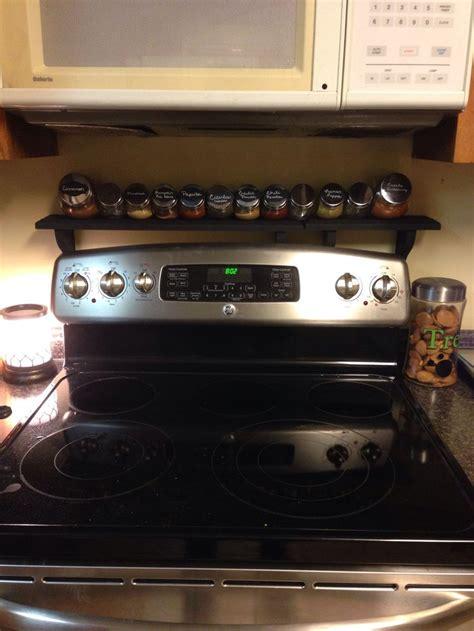 Spice Rack Stove by Kitchen Organization Organization Stove