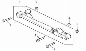 Land Rover Parts - Rear Suspension Radius Arm  R P38